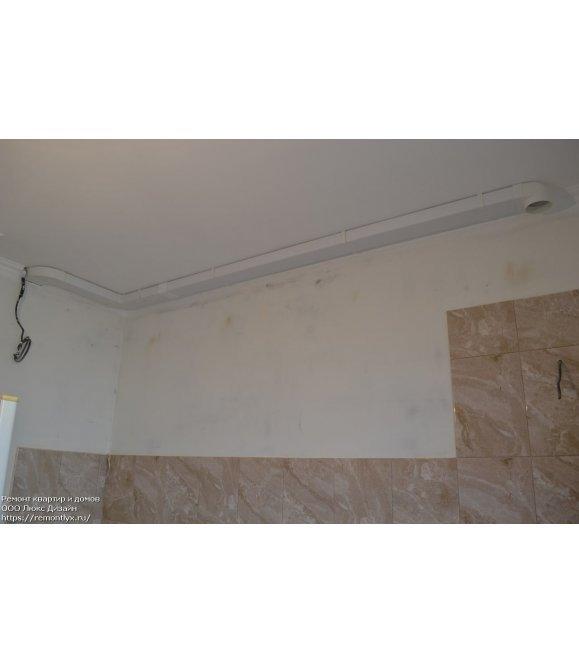 Монтаж вентиляции в квартире до
