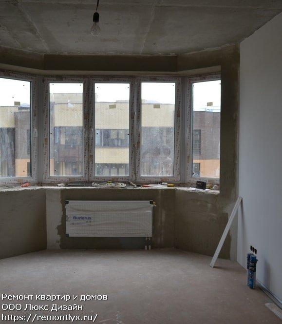 Черновая отделка квартир после