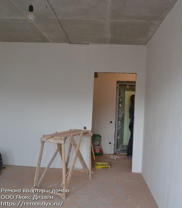 Шпаклёвка стен после