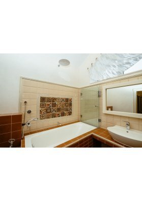 Дизайн ванной комнаты плитка в интерьере