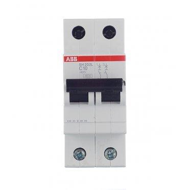 Автомат ABB S202 (2CDS252001R0164) 2P 16 А тип C 6 кА 400 В на DIN-рейку