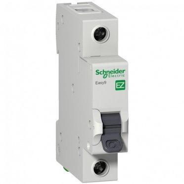 Автомат Schneider Electric Easy9 (EZ9F14110) 1P 10 А тип B 4,5 кА 230 В на DIN-рейку