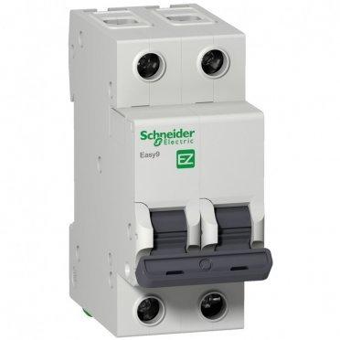Автомат Schneider Electric Easy9 (EZ9F56240) 2P 40 А тип C 6 кА 230 В на DIN-рейку