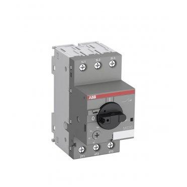Автоматический выключатель защиты двигателя ABB MS116-2.5 (1SAM250000R1007) 3P 2,5 А 50 кА 690 В на DIN-рейку/монтажную плату