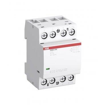 Контактор модульный ABB ESB (1SAE351111R0640) 230 В 63 А тип AC/DС 4НО