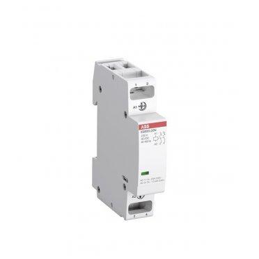 Контактор модульный ABB ESB (1SBE121111R0611) 230 В 20 А тип AC/DС 1НО+1НЗ