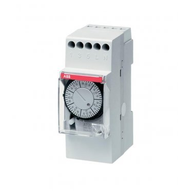Реле времени модульное ABB AT2e (2CSM231225R0601) 230 В 16 А тип AC 1P