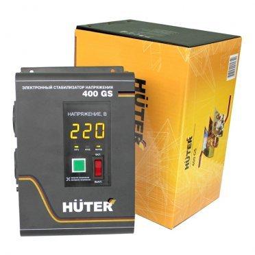 Стабилизатор напряжения Huter 400GS однофазный 220 В 0,33 кВА релейный навесной