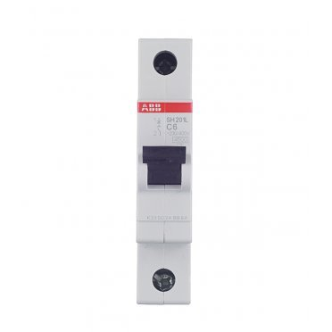 Автомат ABB SH201L (2CDS241001R0064) 1P 6 А тип C 4,5 кА 230 В на DIN-рейку