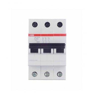 Автомат ABB SH203L (2CDS243001R0504) 3P 50 А тип C 4,5 кА 400 В на DIN-рейку
