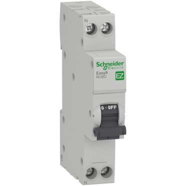 Автомат дифференциальный Schneider Electric Easy9 (EZ9D33625) 25 А 30 мА 1P+N тип AC 4,5 кА