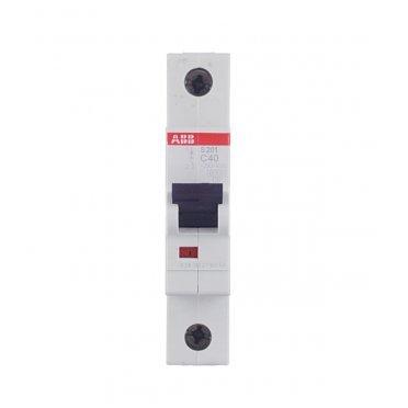 Автомат ABB S201 (2CDS251001R0404) 1P 40 А тип C 6 кА 230 В на DIN-рейку