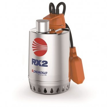 RXm 2 погружной дренажный насос из нерж.стали для пресной воды
