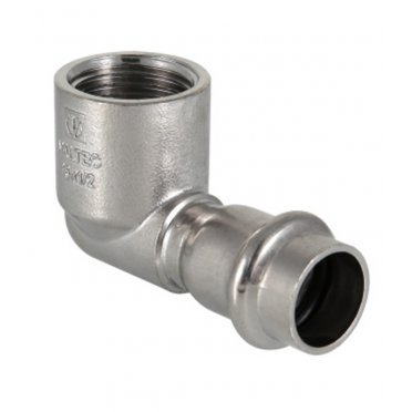 Угол Valtec (VTi.952.I.002205) 90° 22 мм х 3/4 ВР нержавеющая сталь