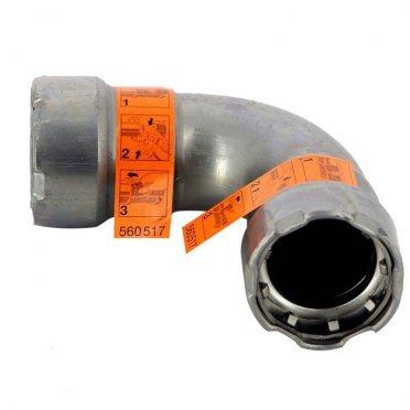 """Угол Viega Megapress SC-Contur (694517) 90° 1/2"""" DN15 пресс нелегированная оцинкованная сталь"""