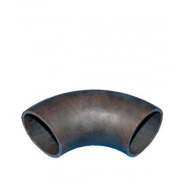 Отвод крутоизогнутый под сварку DN108 бесшовный кованый черная сталь