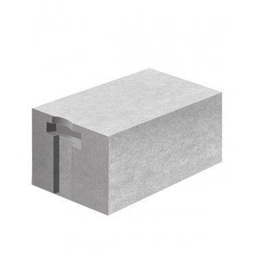 Газосиликатный блок ЛСР 400х250х625 мм D400