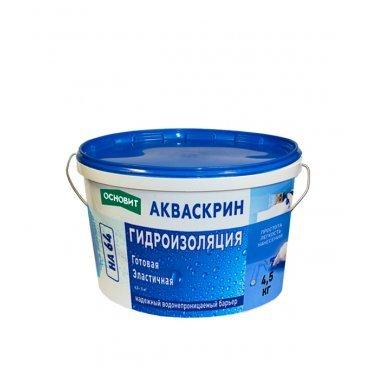 Гидроизоляция Основит Акваскрин НА64 4,5 кг