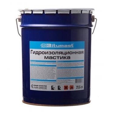 Мастика гидроизоляционная Bitumast 18 кг/21,5 л