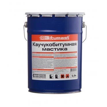 Мастика каучукобитумная Bitumast 4,2 кг/5 л