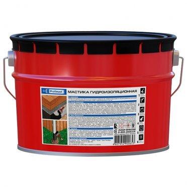 Мастика гидроизоляционная Profimast 9 кг/10 л
