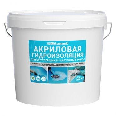 Гидроизоляция акриловая Bitumast 20 кг