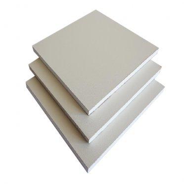Гипсокартон с ПВХ покрытием 3000х1200х12,5мм белый RAL 9010