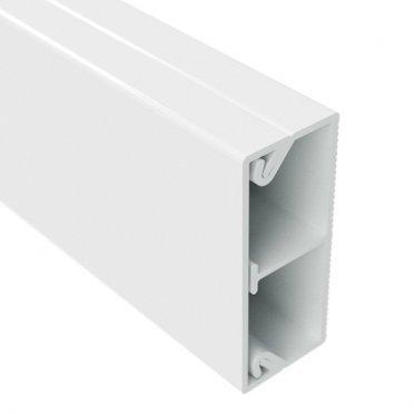 Кабель-канал DKC (00305) 40x17 мм белый 2 м с перегородкой