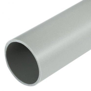 Труба ПВХ 32 мм гладкая жесткая (3 м) серая