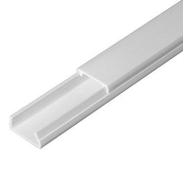 Кабель-канал 20х10 мм белый 2 м