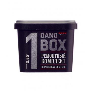 Шпаклевка для экcпресс-ремонта Danogips DanoBox1 с шпателем 0,85 л/1 кг