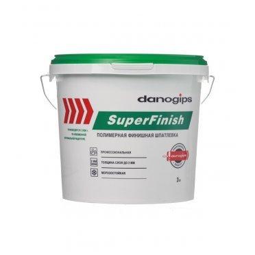 Шпатлевка Danogips SuperFinish универсальная 3 л