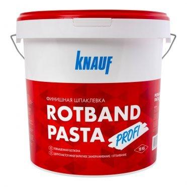 Шпатлевка финишная Knauf Ротбанд паста Профи 18 кг