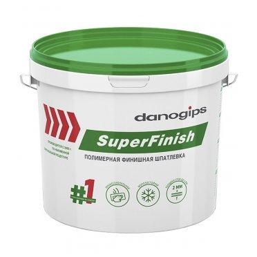 Шпатлевка Danogips SuperFinish универсальная 15 л/24 кг