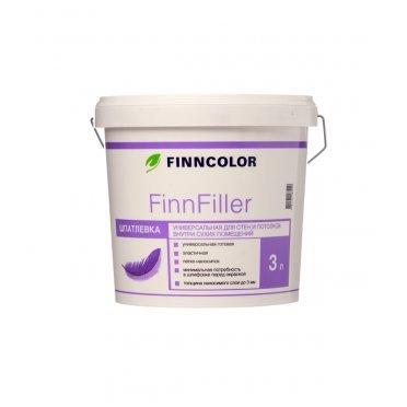 Шпатлевка финишная Finncolor Finnfiller 3 л