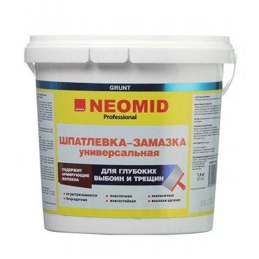 Шпатлевка-замазка Neomid универсальная 1,4 кг