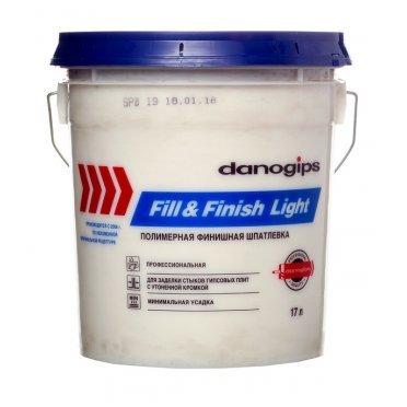 Шпатлевка Danogips Fill&Finish Light универсальная облегченная 17 л