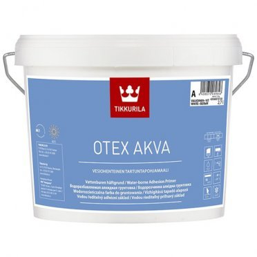 Грунт Tikkurila OTEX AKVA основа А 2,7 л