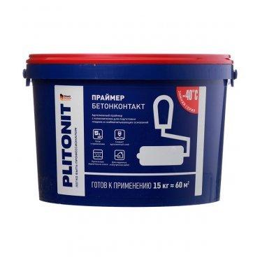 Грунт бетоноконтакт Plitonit 15 кг