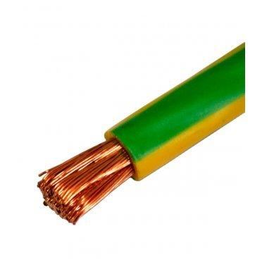 Провод ПВ3 (ПуГВ) 1x16 желто-зеленый (100 м)