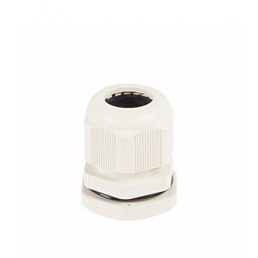 Сальник Rexant MG 12 для кабеля диаметром 4,6-7,6 мм пластиковый IP68 белый (2 шт.)
