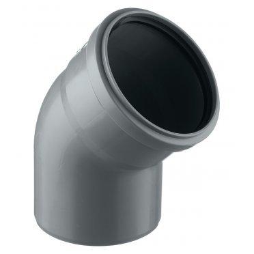 Отвод внутренний 110 мм, 45° однораструбный