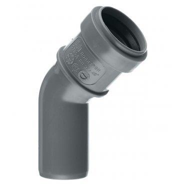 Отвод внутренний 32 мм, 45° однораструбный