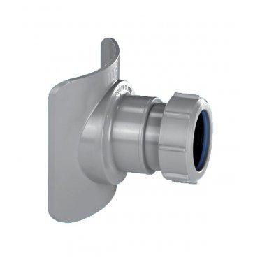 Врезка в трубу 110 мм McAlpine выход компрессионный 50 мм