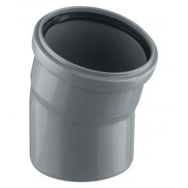 Отвод внутренний 110 мм, 15° однораструбный