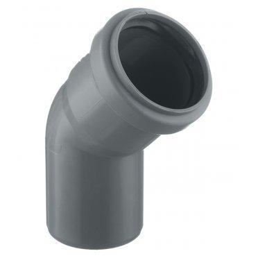 Отвод внутренний 50 мм, 45° однораструбный
