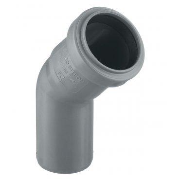 Отвод внутренний 40 мм, 45° однораструбный