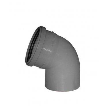 Отвод внутренний Ostendorf 110 мм 67° однораструбный