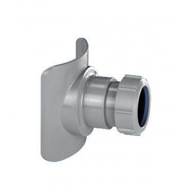 Врезка в трубу 110 мм McAlpine выход компрессионный 40 мм
