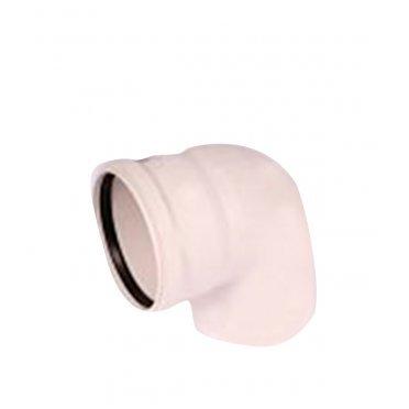Отвод внутренний шумопоглощающий 110 мм, 87° Rehau Raupiano Plus